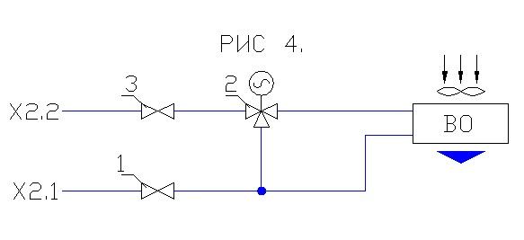 схема обвязки двухтрубного